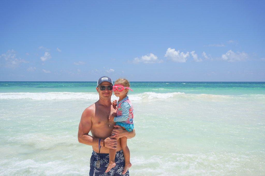 beach time at La Zebra