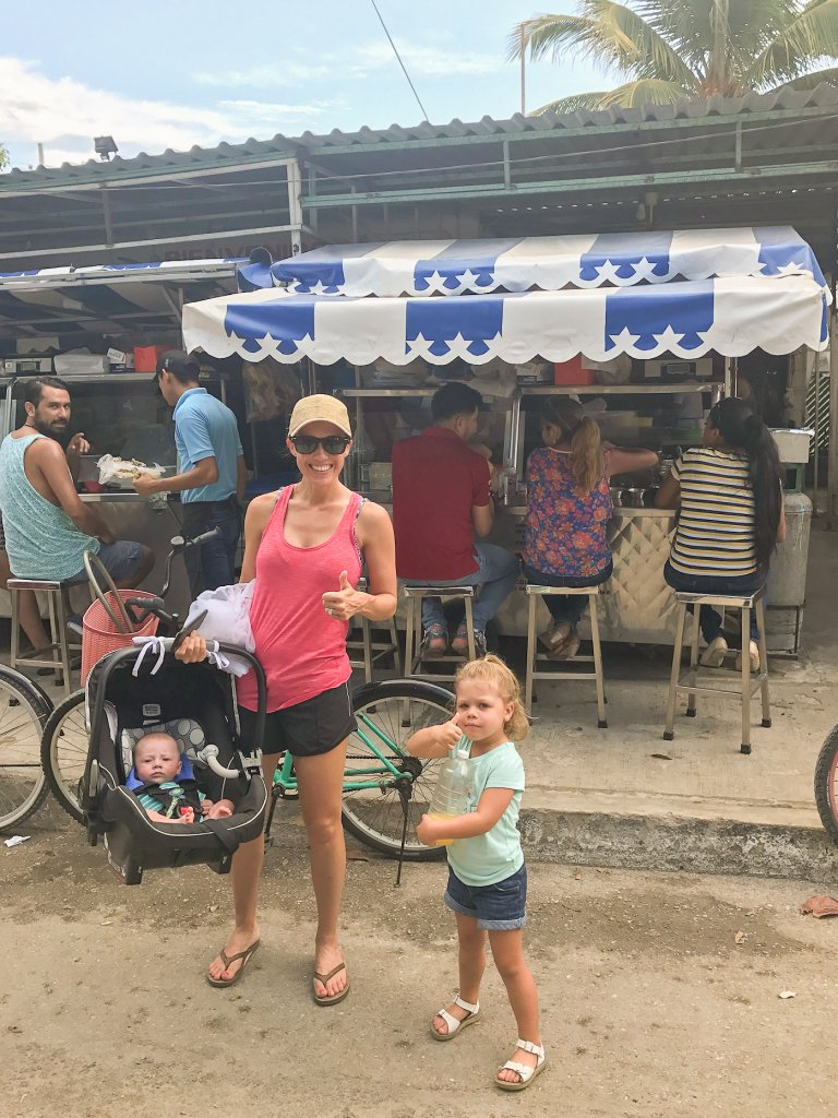 Taqueria Honorio - Tulum with kids