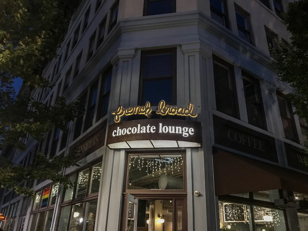 The French Broad Chocolate Lounge - Asheville with kids
