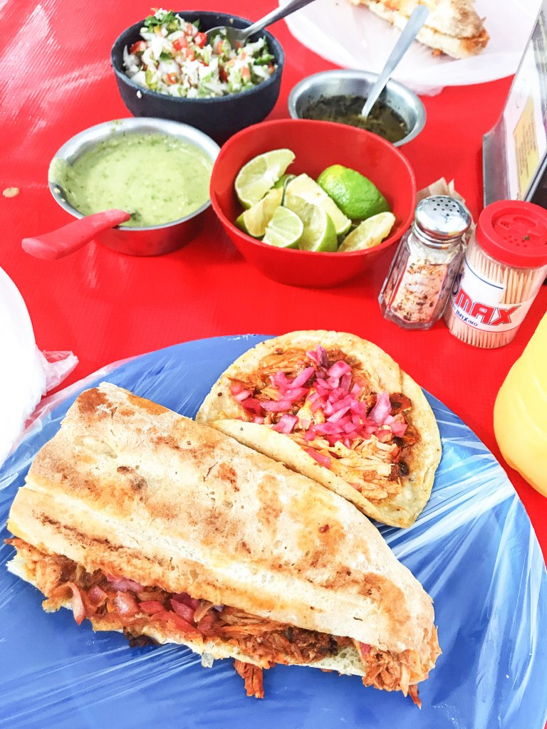 cochinita pibil at Taqueria Honorio