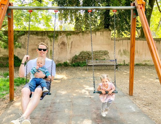 Borghese Gardens in Rome with kids
