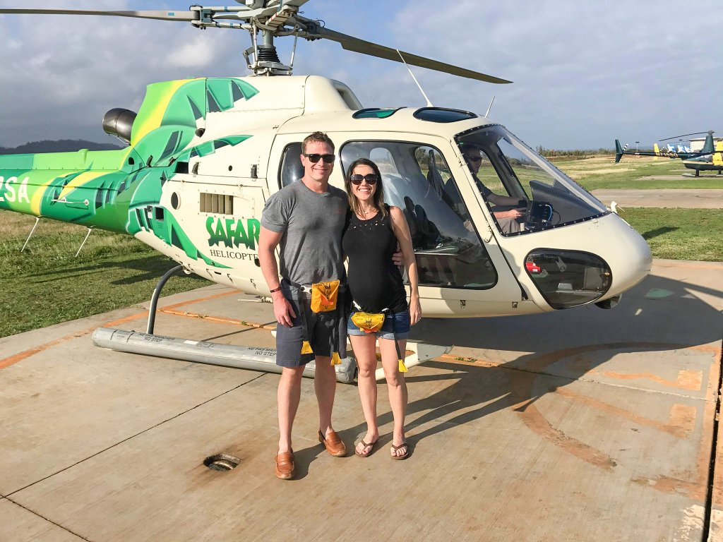 Safari Helicopter Tour - babymoon in Hawaii