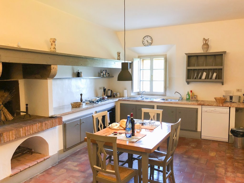 kitchen at la Chiarentana