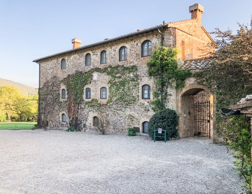 La Chiarentana is a perfect family friendly place to stay in Tuscany