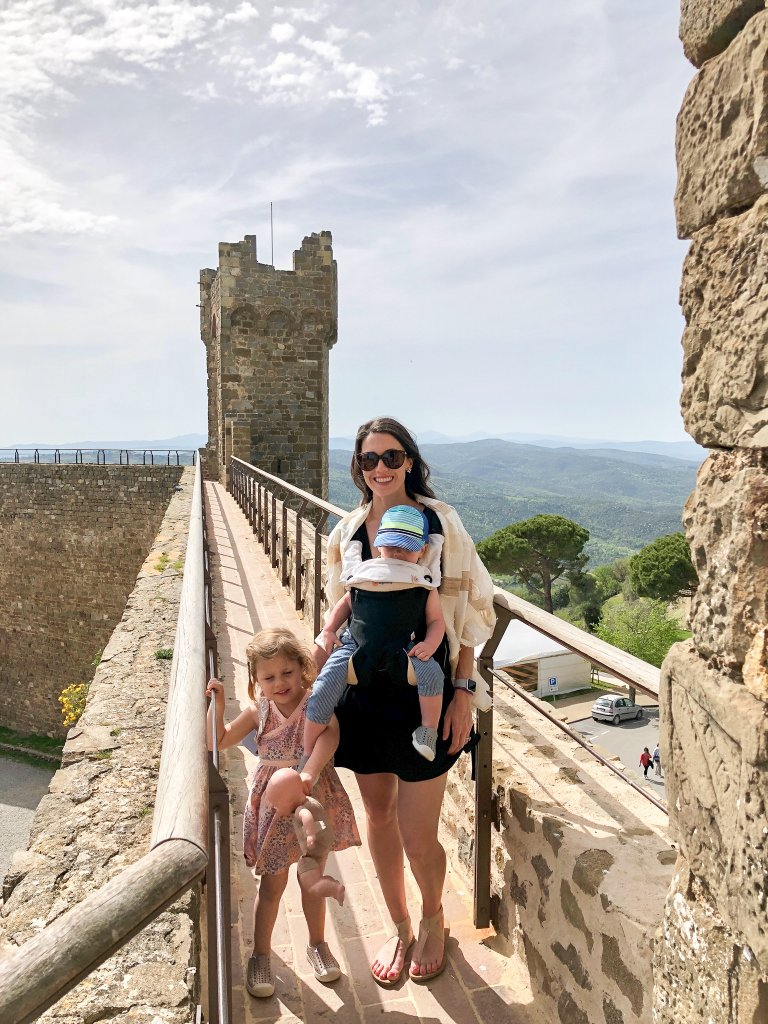 Montalcino Fortress with kids
