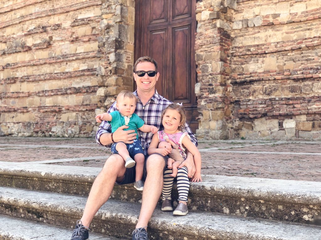 Duomo di Montepulciano -Tuscany with kids