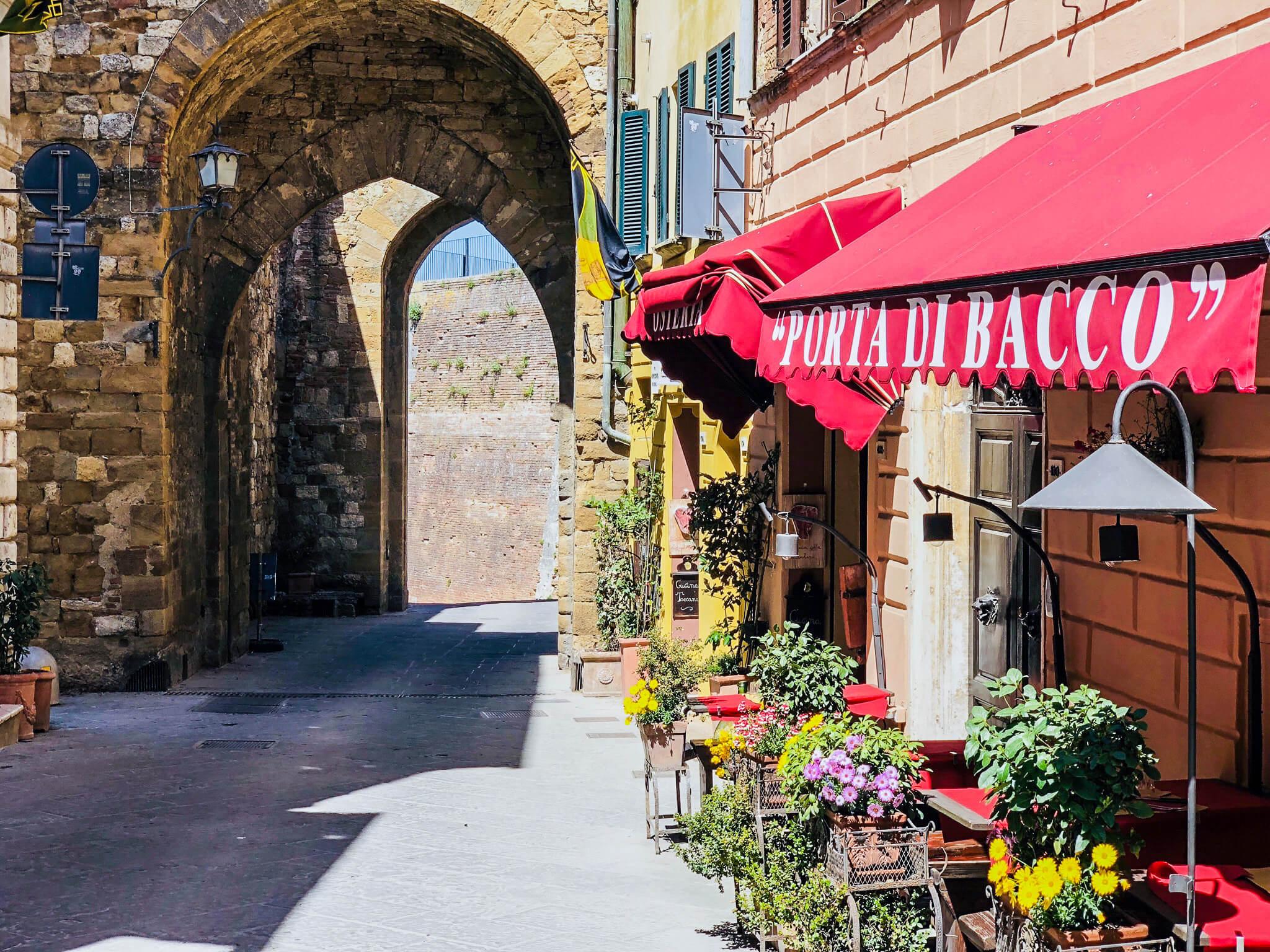 street in Tuscany