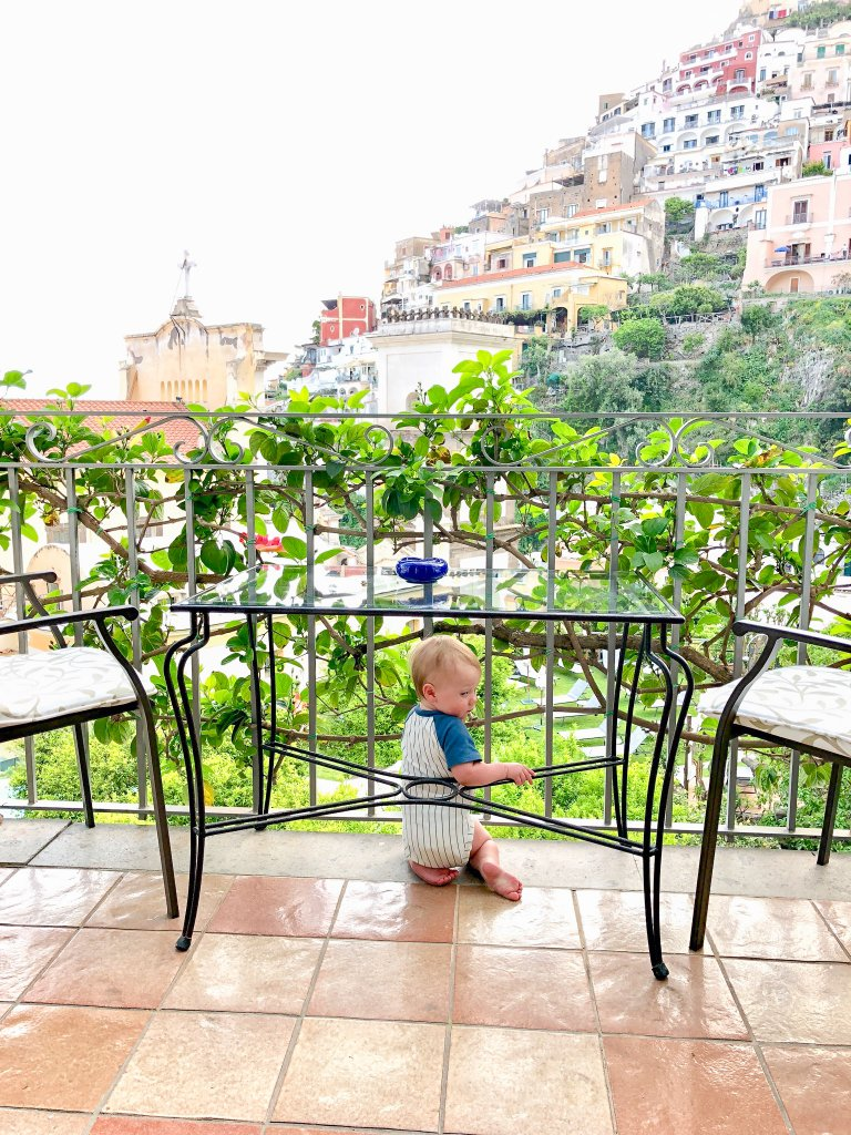 Hotel Palazzo Murat terrace - Positano with kids