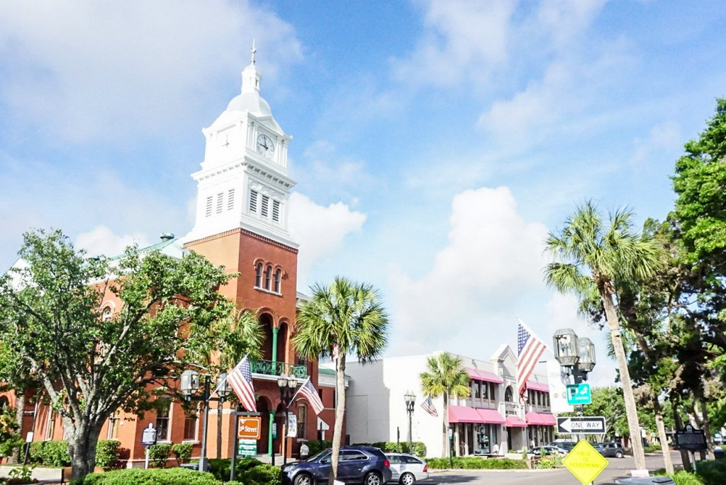 picturesque downtown Fernandina located on Amelia Island is great for families