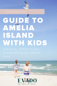 a guide to everything you need to know to visit Amelia Island with kids