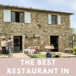 Locanda Demetra, a hidden gem in Tuscany, is the backdrop for a wonderful lunch