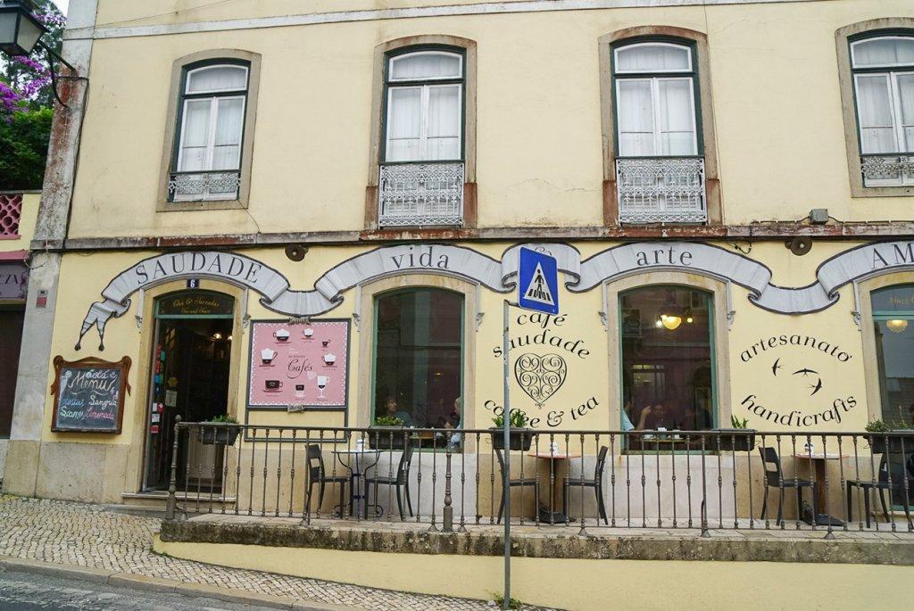 Cafe Saudade in Sintra