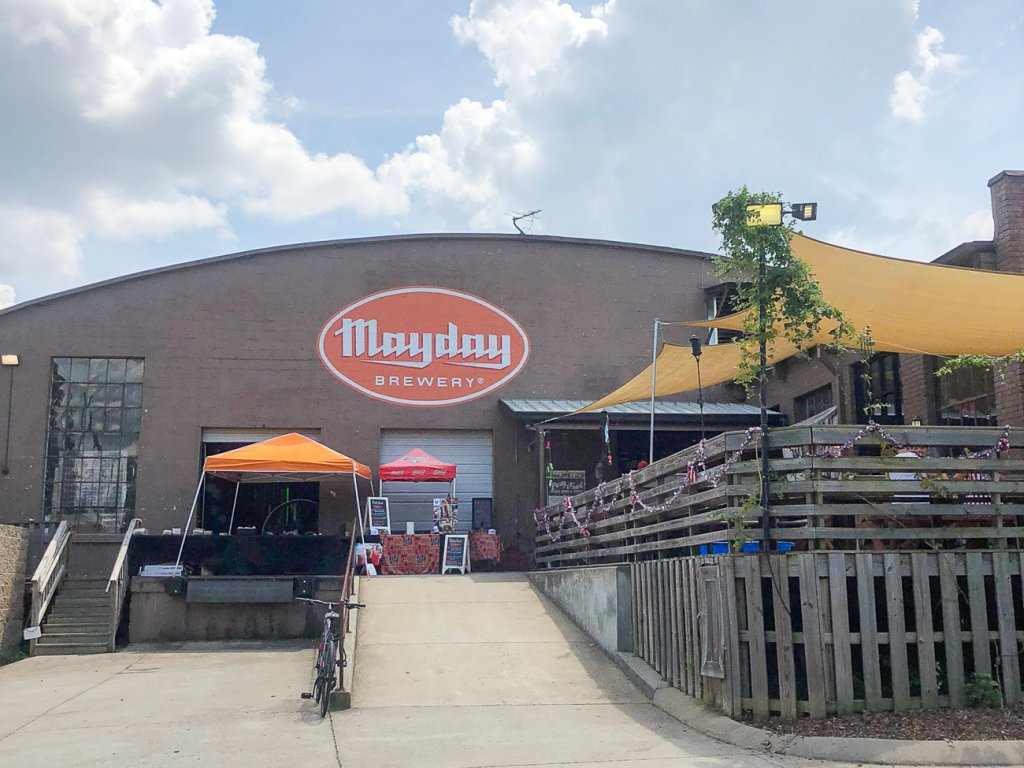 Mayday Brewery in Murfreesboro is perfect for families with the outdoor patio