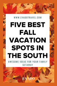 five fall vacation spots in the south