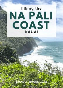 hiking the Na Pali coast in Kauai