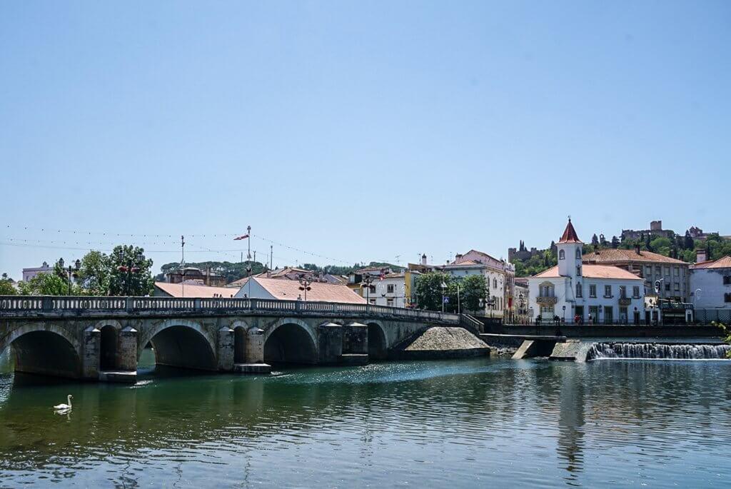 view of Old Bridge in Tomar