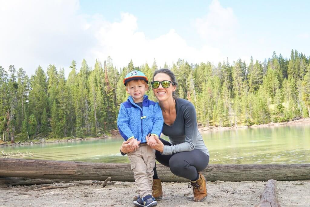 hiking at Clear Lake