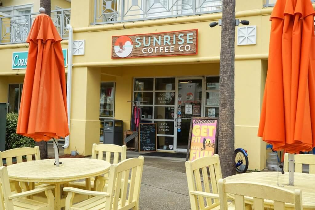 Sunrise Coffee in Gulf Place 30a