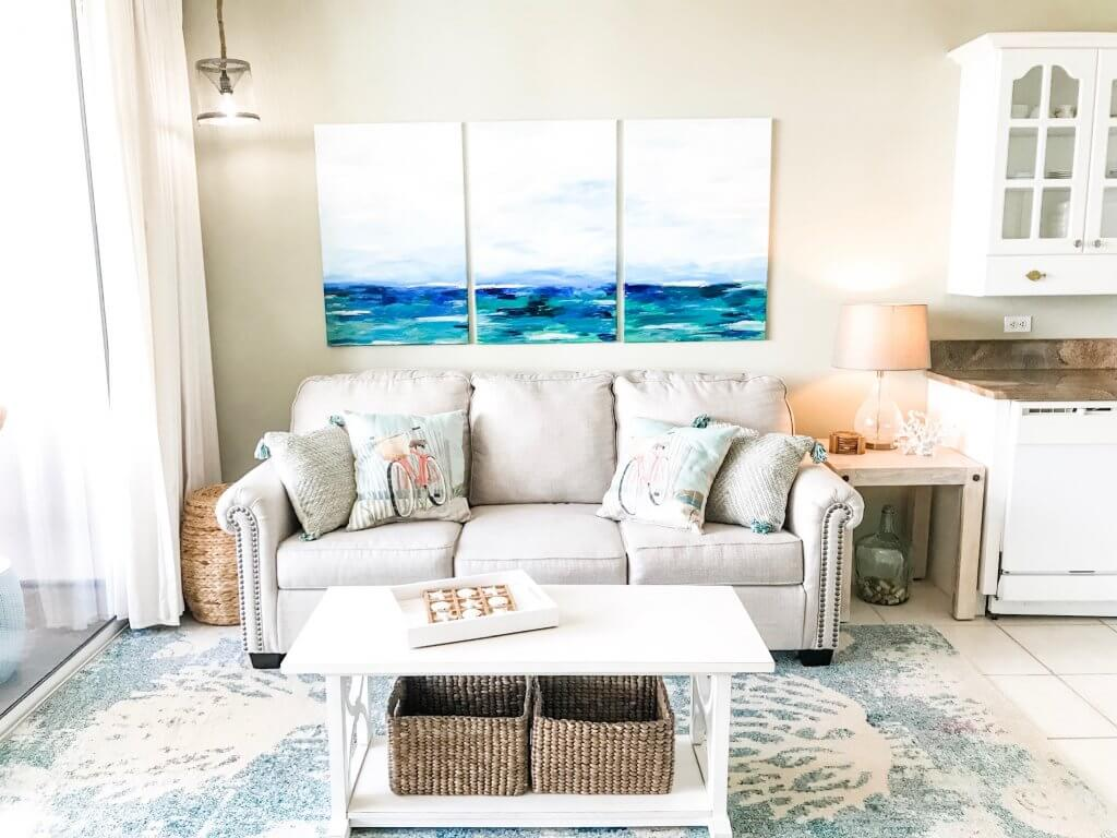 beach haven 30a living area