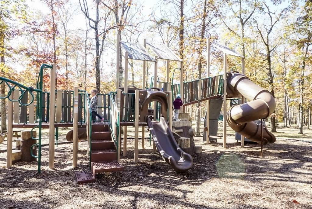 playground at Fall Creek Falls State Park