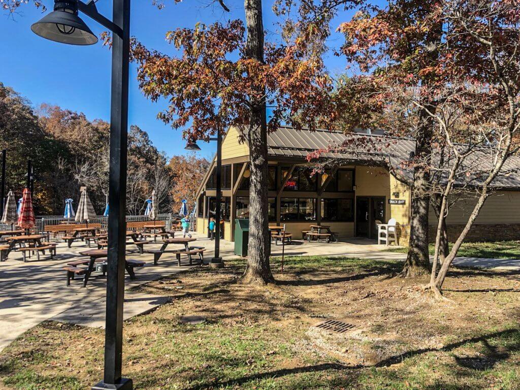 snack bar at Fall Creek Falls State Park